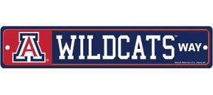 Arizona Wildcats Street Sign