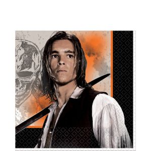 Pirates of the Caribbean Lunch Napkins 16ct