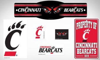 Cincinnati Bearcats Dorm Room Kit