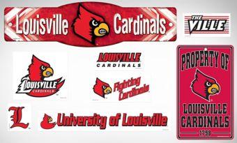 Louisville Cardinals Dorm Room Kit