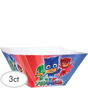 PJ Masks Serving Bowls 3ct