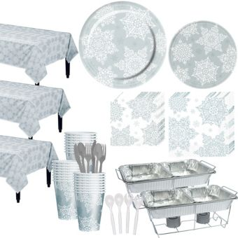 Shining Season Tableware Kit for 100 Guests