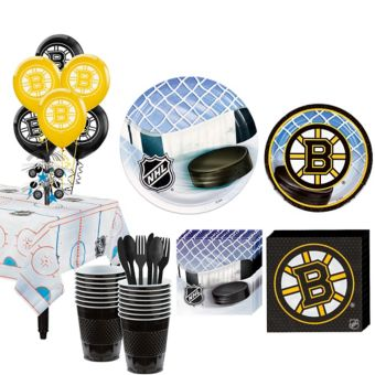 Boston Bruins Super Party Kit for 16 Guests