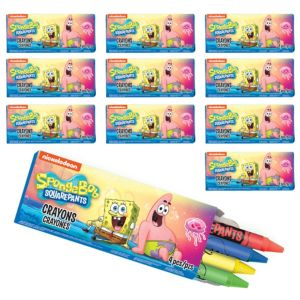 SpongeBob Crayon Boxes 48ct
