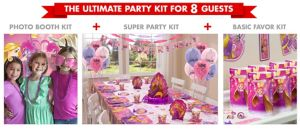 Rapunzul Ultimate Party Kit for 8 Guests