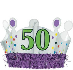 50th Birthday Crown