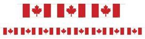 Canadian Flag Garland