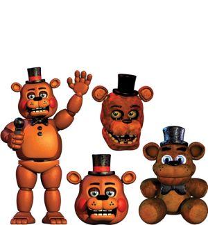 Freddy Fazbear Cutouts 4ct - Five Nights at Freddy's