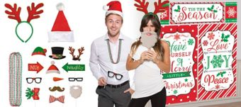 Christmas Super Photo Booth Kit