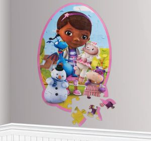 Doc McStuffins Wall Puzzle 46pc