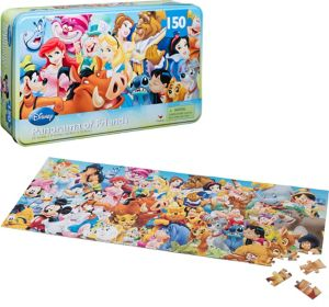 Disney Characters Panorama Puzzle 150pc