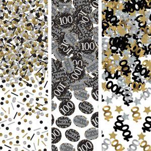 100th Birthday Confetti - Sparkling Celebration