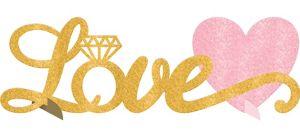 Glitter Love Centerpiece