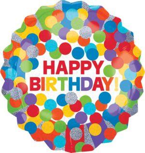 Giant Rainbow Birthday Balloon