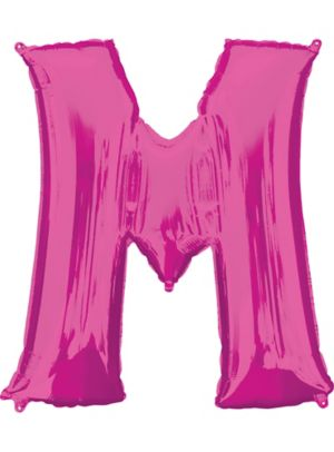 Giant Pink Letter M Balloon