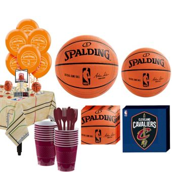 Cleveland Cavaliers Super Party Kit 16 Guests