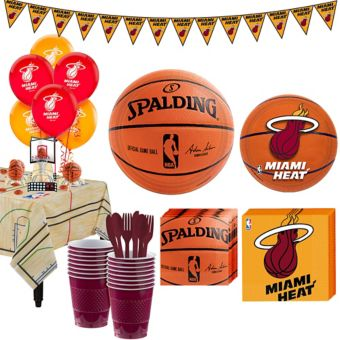 Miami Heat Super Party Kit 16 Guests