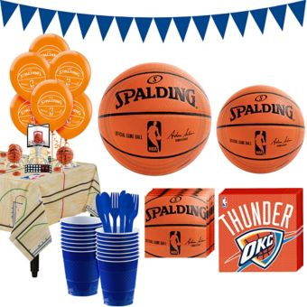 Oklahoma City Thunder Super Party Kit 16 Guests