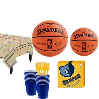 Memphis Grizzlies Basic Party Kit 16 Guests