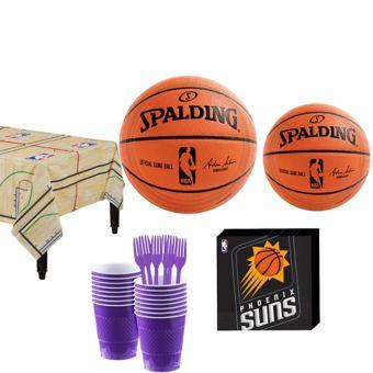 Phoenix Suns Basic Party Kit 16 Guests