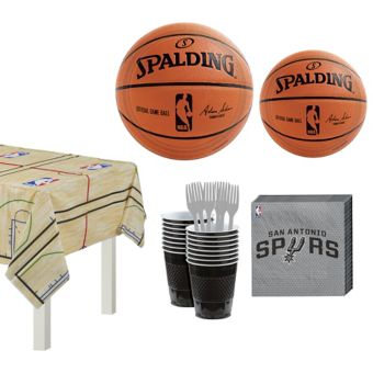 San Antonio Spurs Basic Party Kit 16 Guests