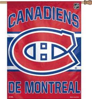 Montreal Canadiens Banner Flag