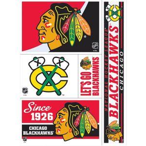 Chicago Blackhawks Decals 5ct