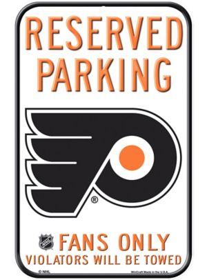 Reserved Parking Philadelphia Flyers Sign