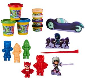 Softee Dough PJ Masks 3D Figure Maker Playset 13pc