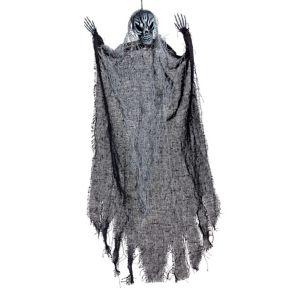 Scary Black Grim Reaper Decoration