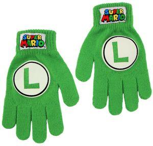 Child Luigi Gloves - Super Mario Brothers