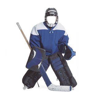 Hockey Player Life-Size Photo Cardboard Cutout