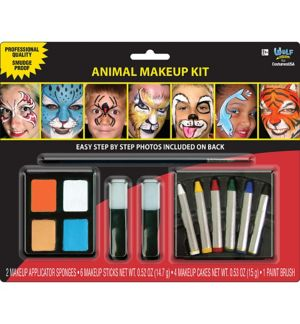 Wild Animals Makeup Kit