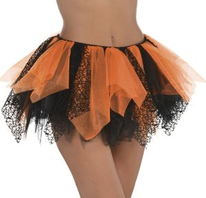Adult Black & Orange Tutu