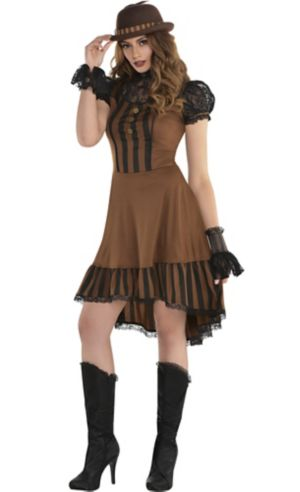 Adult Steampunk Dress