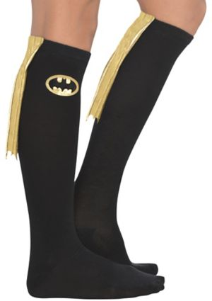 Adult Batgirl Knee Socks - Batman