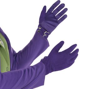 Adult Joker Gloves - Dark Knight 3