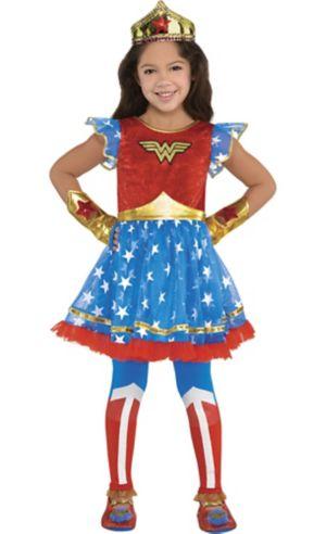 Child Wonder Woman Tutu Dress