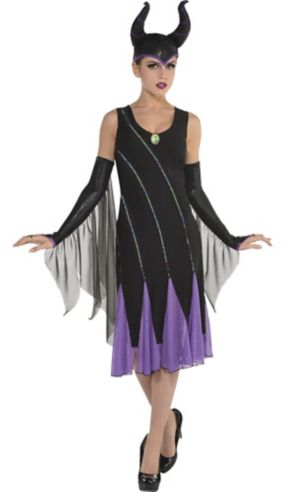 Adult Maleficent Dress - Sleeping Beauty