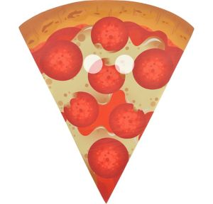 Adult Pizza Mask