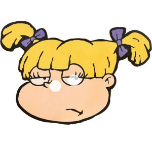 Angelica Pickles Mask - Rugrats