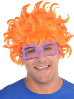 Adult Chuckie Finster Costume Accessory Kit - Rugrats