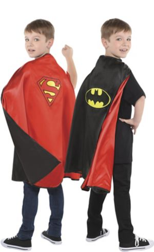 Reversible Batman & Superman Cape