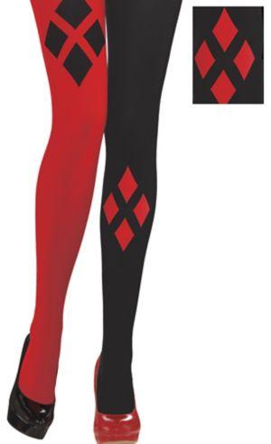 Adult Harley Quinn Tights - Batman