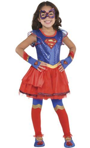 Child Supergirl Tutu Dress - Superman