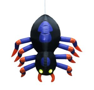 Light-Up Dropping Inflatable Spider