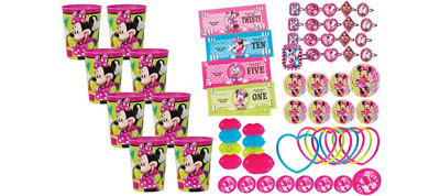 Minnie Mouse Super Favor Kit for 8 Guests