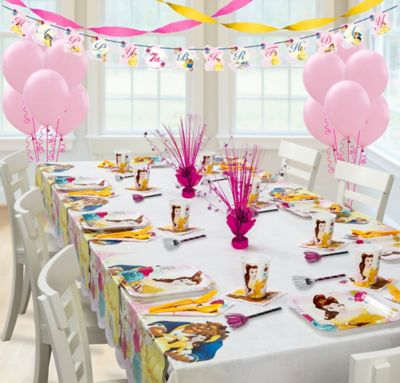 Beauty and the Beast Super Party Kit for 8 Guests Party City