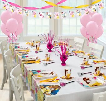 Beauty and the Beast Super Party Kit for 8 Guests