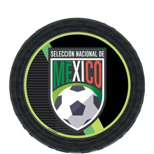 Mexico National Team Dessert Plates 8ct